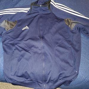 Adidas XL sweatshirt jumper warm-up track jacket